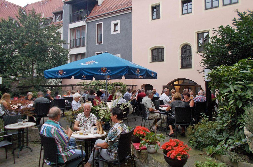 Gästegarten im Innenhof